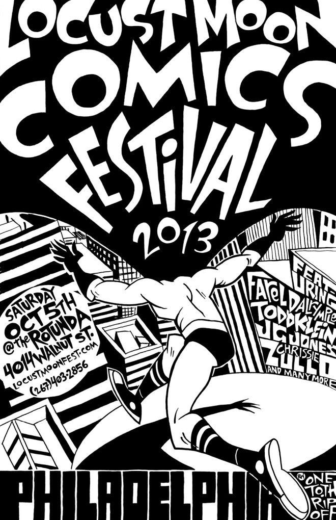 LMCF2013 poster by Rob Woods