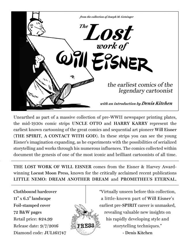 Eisner order BW