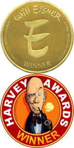 Eisner Harvey Winner